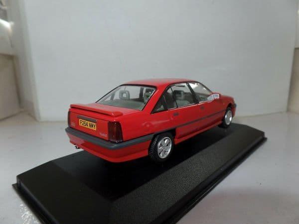 Lledo Corgi Vanguards VA14002A 1/43 Scale Vauxhall Carlton 3000 Gsi Carmine Red